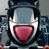 Rear Seat Cowl Black