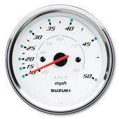 "4"" Speedometer 50 mph - White"