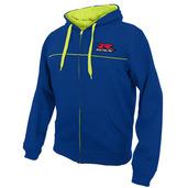 GSX-R Zip Hoodie, Blue/Yellow