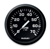 4� Tachometer - Black � Without monitor functions