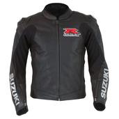 GSX-R Leather Jacket, Black