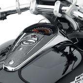 Carbon Fiber Speedometer Trim