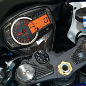 Carbon Look Dash Cover