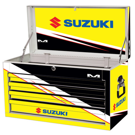 Suzuki M80 4-Drawer Tool Box White picture