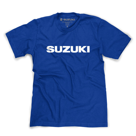 Logo Tee, Blue picture