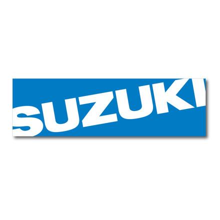 Suzuki Banner Blue, 3'x10' picture