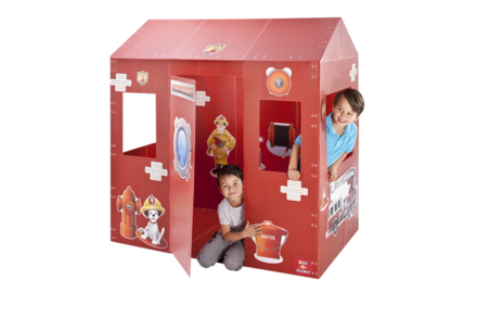 Box-O-Mania&#8217;s Fire Station No.7&#8482; Junior Play Box Deluxe Kit (in Apple Red&#8482;) picture