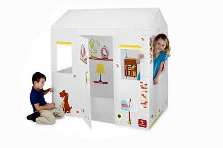 Box-O-Mania's My Place™ Junior Play Box Deluxe Kit (in Lunar White™)