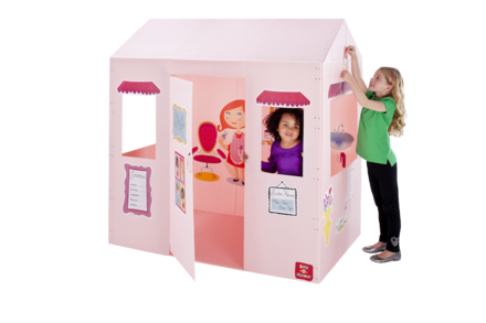 Box-O-Mania's Le Petit Salon™ Junior Play Box Deluxe Kit (in Pretty Pink™) picture