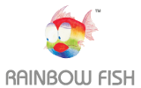Rainbow Fish Fiber Optic HDMI Cable