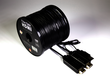 Rainbow Fish Fiber Optic HDMI  Cable (Professional) - 150' Black additional picture 1