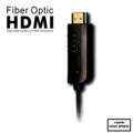 Rainbow Fish Fiber Optic HDMI  Cable (Professional) - 35' Black