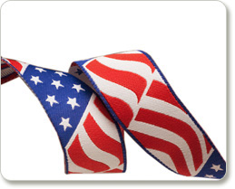 """7/8"""" American Flag picture"""