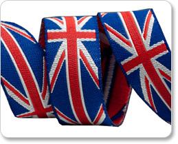 """5/8"""" British Flag picture"""