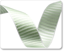 "5/8""-Green Pastel Reversible Satin Stripe picture"