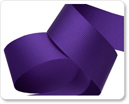 """1"""" Violet Gros Grain picture"""