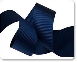 "1"" Marine Blue Gros Grain picture"