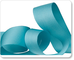 "1"" Aqua Gros Grain picture"