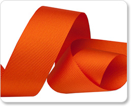 "1"" Seville Orange Gros Grain picture"