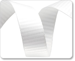 "5/8""-Ivory Reversible Satin Stripes picture"