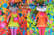 Paulette Day/night Cat Velvet Sewing Project Kit additional picture 1