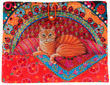 Sewing Project Kit-Ginger Cat-Tablet case- Velvet additional picture 2
