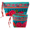 Kit RR bag-Peonies on turquoise- makes 2 bags additional picture 1