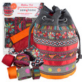 Ribbon Kit Sew4Home Red Bucket bag