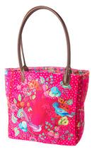 Sewing Project Kit-Enchanted velvet Pink Bag