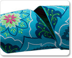 """2""""  Blue on Navy Belle Brocade - Amy Butle"""