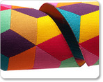 "1 1/2"" Multi Yellow Tumbling Blocks - Kaffe Fassett"