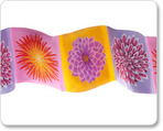 "2"" Dahlia in Pink/Purple/Orange - By Laura Foster Nicholson"