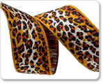 "7/8"" Brown/Gold Ombre Leopard - Anna Maria Horner"
