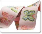 "7/8"" Pale Pink Butterflies - Bonnie Christine"