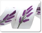 """1-5/8"""" Linen Lavender Magenta/white"""