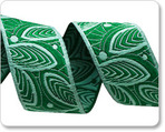 "7/8"" Green Leaf Lines - Amy Butler"