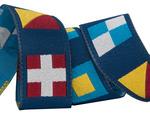"""7/8"""" - Sailor Dog Nautical Flag 7/8"""" by Raphael Kerley"""