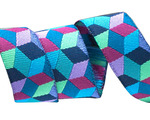"1 1/2"" Blue Tumbling Blocks - Kaffe Fassett"