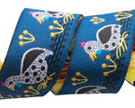"7/8"" Blue Guinea Fowl 7/8"" - Folk Tails by Sue Spargo"