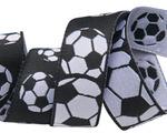"7/8""-Soccer Balls Black & White- by Raphael Kerley"