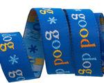 "5/8"" - Good Dog on Blue by Jessica Jones"