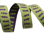 "3/8"" Reversible Lime Green & Purple Arrows 3/8"" - sue Spargo"