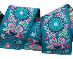 """1-1/2"""" Mantra Turquoise - Amy Butler"""