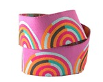 "7/8""-Orange on Pink Hypnotizer - Tula Pink"