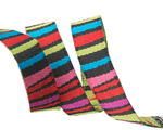 "3/8"" Dark fanciful stripes"