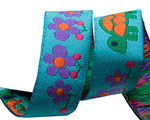 "5/8"" Turquoise Tortoise 5/8"" - Folk Tails by Sue Spargo"
