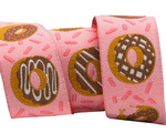 "7/8"" - Donuts on Pink 7/8"" by Raphael Kerley"