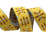 "5/8"" Yellow Misguided Gingham"