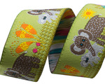 "7/8"" Elephant Mama and Baby 7/8"" - Folk Tails by Sue Spargo"