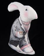 Black Coat -Alice White Rabbit Velvet Sewing Project Kit